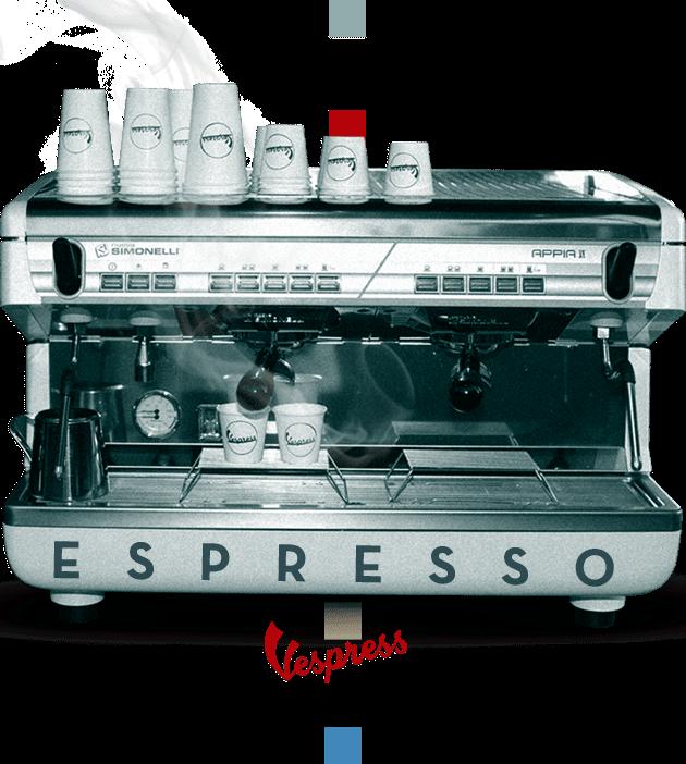 Maquina de café para espresso italiano marca Simonelli